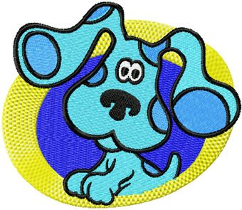 Blues Clues embroidery design 3