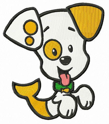 Bubble Puppy embroidery design