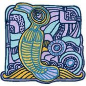 Bird Island embroidery design