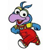 Baby Gonzo embroidery design
