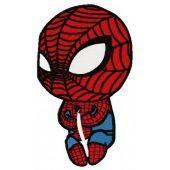 Baby Spiderman free machine embroidery design