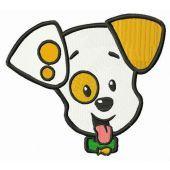Bubble Puppy muzzle embroidery design