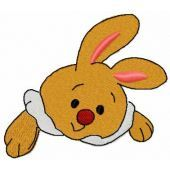 Bunny toy free embroidery design 12