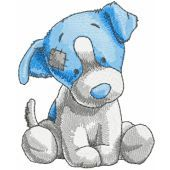Chase dog embroidery design