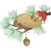 Christmas dream embroidery design