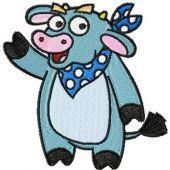 Cow - Dora the Explorer's friend embroidery design