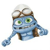 Crazy Frog embroidery design