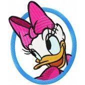Daisy Duck embroidery design 2
