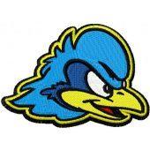 Delaware Blue Hens logo machine embroidery design