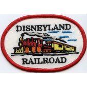 Disneyland Railroad patches machine embroidery design