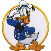 Donald Duck Captain embroidery design