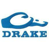 Drake logo machine embroidery design