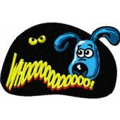 Gromit embroidery design 2