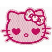 Hello Kitty Pink embroidery design 2