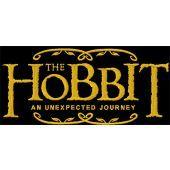 Hobbit An Unexpected Journey movie logo machine embroidery design