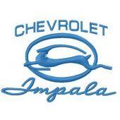Chevrolet Impala machine embroidery design 4