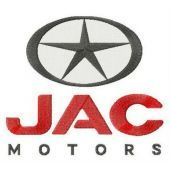 JAC motors logo embroidery design