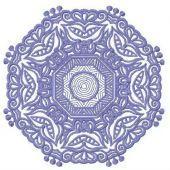 Lace doily machine embroidery design 7