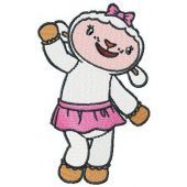 Lambie embroidery design 2