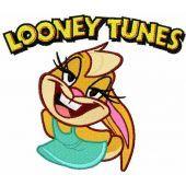 Lola Looney Tunes embroidery design
