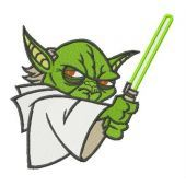 Master Yoda embroidery design