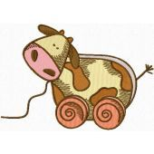 My Little Cow machine embroidery design