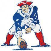 New England Patriots machine embroidery design