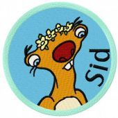 Sid embroidery design 4