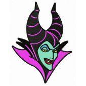 Strange Maleficent embroidery design