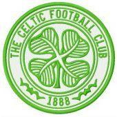 The Celtic FC logo machine embroidery design