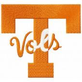 University of Tennessee Vols Logo embroidery design 2