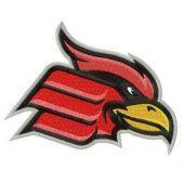 Wheeling Cardinals logo embroidery design