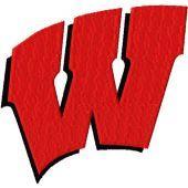 Wisconsin Badgers Logo machine embroidery design
