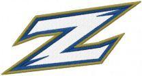 Akron Zips Primary Logo embroidery design
