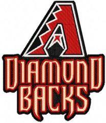 Arizona Diamondbacks alternative Logo machine embroidery design