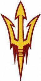 Arizona State Sun Devils Primary Logo embroidery design