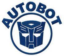 Autobot machine embroidery design