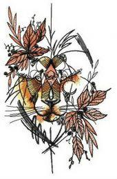Autumn lion
