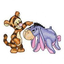 Baby Tigger and Baby Eeyore