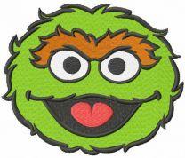 Basura Monster embroidery design