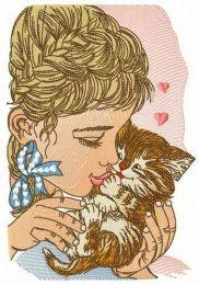 Beloved kitten