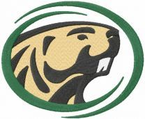 Bemidji State Beavers Logo embroidery design