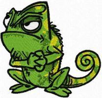 Chameleon Friend of Rapunzel