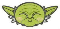 Chibi Master Yoda head