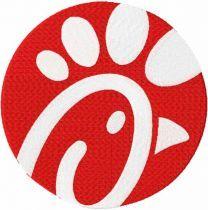 Chick fil a modern logo embroidery design