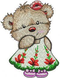Cute Teddy girl
