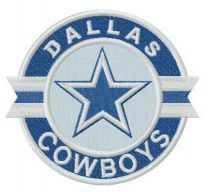 Dallas Cowboys logo embroidery design 3