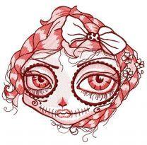 Dead beauty face