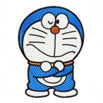 Doraemon embroidery design