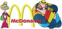 Dr. Jumba Jookiba and McDonalds Logo